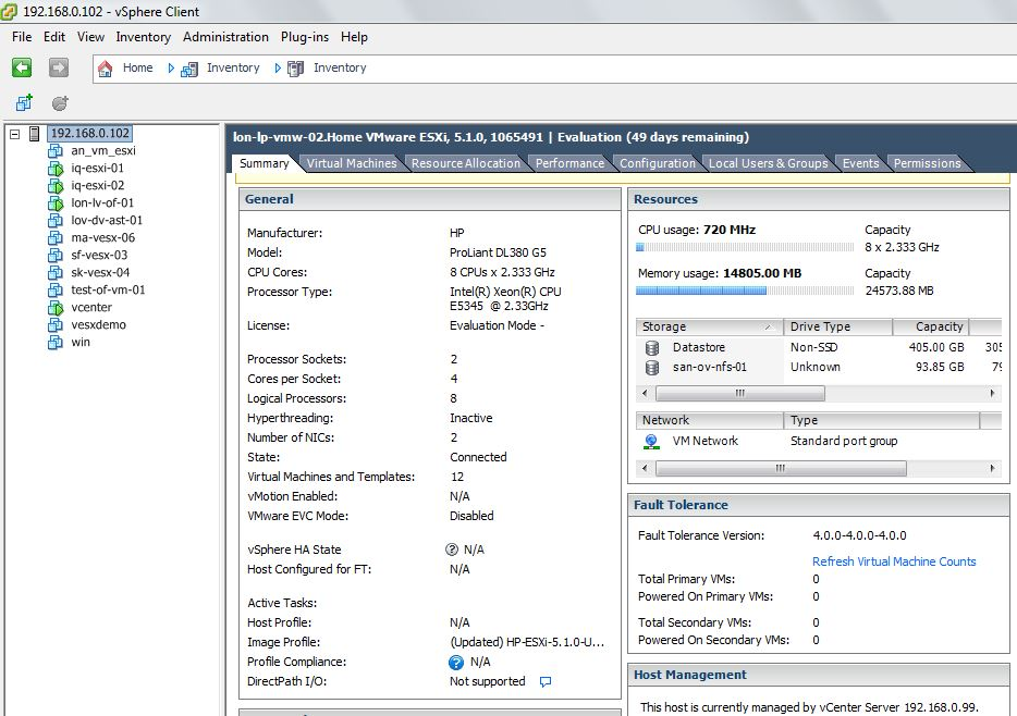My New Physical and Virtual LAB with Nested ESXi (Home Lab) - The