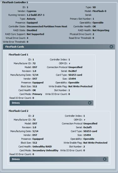 Cisco UCS FlexFlash Configuration of Secure Digital (SD